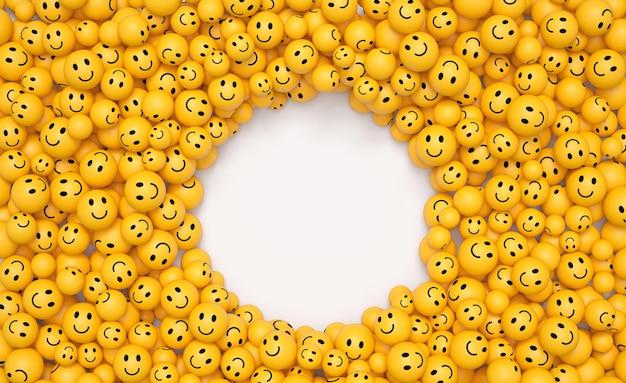 Composition d'emojis de la journée mondiale du sourire