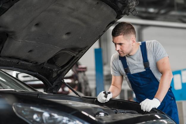 Composition de l'entreprise de réparation automobile