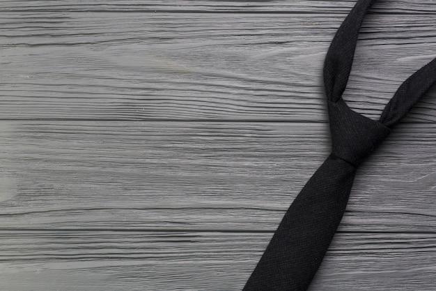 Composition de fête des pères avec cravate