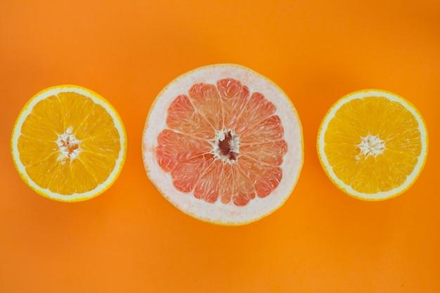 Composition des fruits d'orange