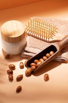 Composition de graines d'arganier naturelles