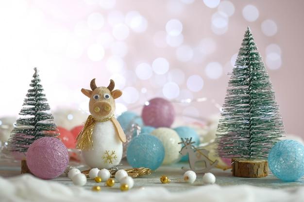 Composition des jouets du nouvel an