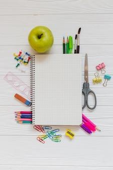 Composition des matériaux scolaires