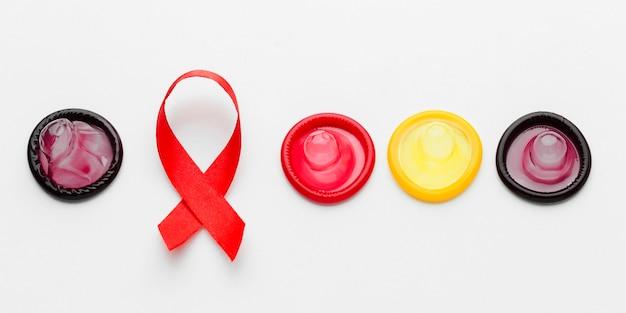 Composition de la méthode de contraception vue de dessus