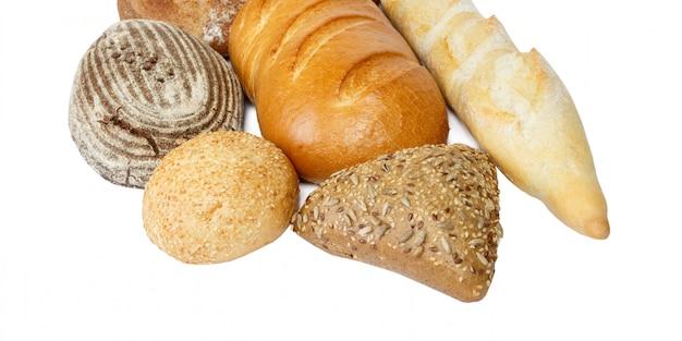 Composition avec miche de pain