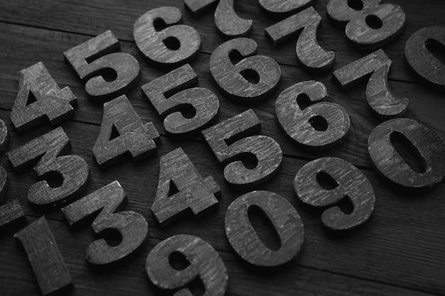 Composition des nombres noirs