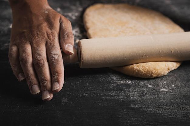 Composition de pâte à rouler
