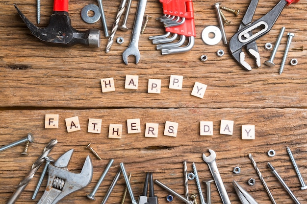 Composition pour la fête des pères