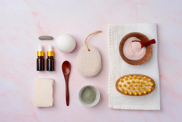 Composition de produits d'auto-soins naturels
