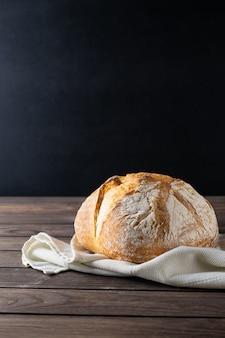 Composition rustique de pain fraîchement cuit