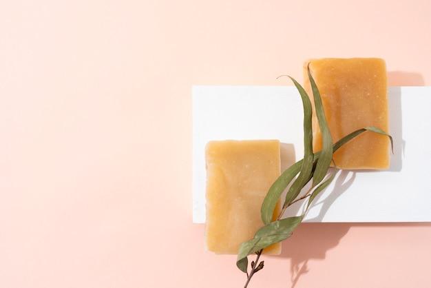 Composition de savon d'auto-soin naturel