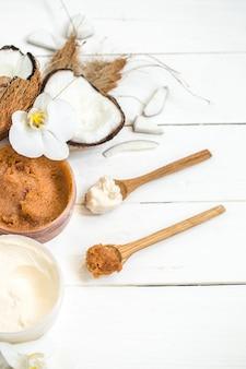 Composition de spa pour les soins du corps
