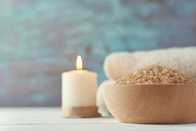 Composition de spa et de soins cosmétiques