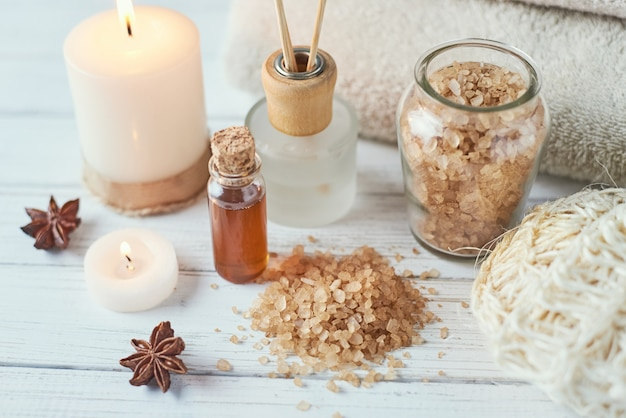 Composition de traitement spa et cosmétique