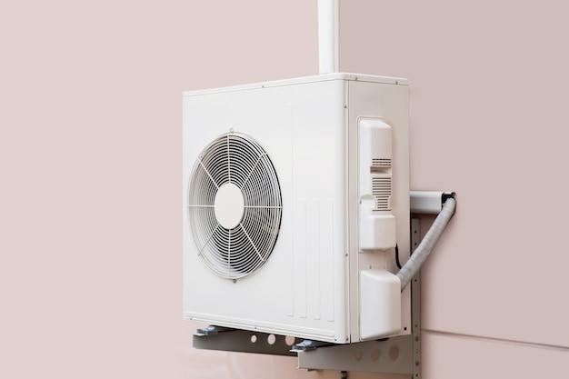 Compresseur d'air extérieur à paroi fendue externe.