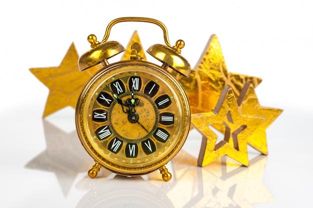 Compte à rebours le soir du nouvel an