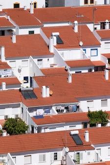 Concentration de maisons dans la ville de mertola