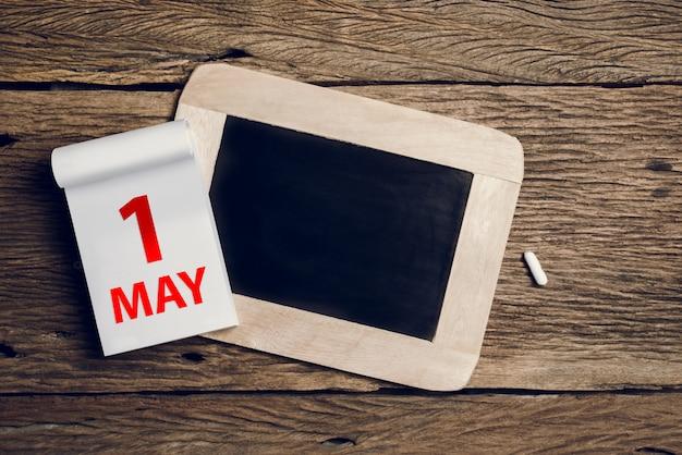 Concept 1er mai, 1er mai