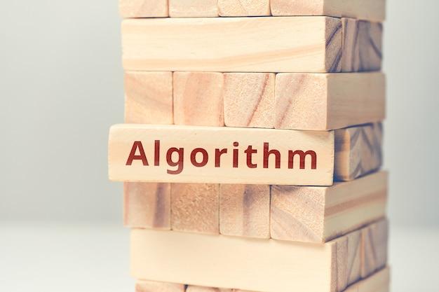 Concept abstrait d'algorithme de codage et de programmation.