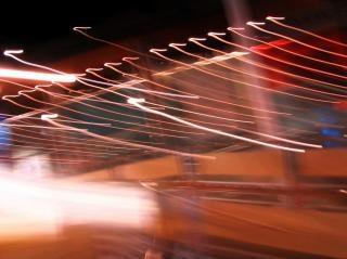 Concept abstrait de la vitesse