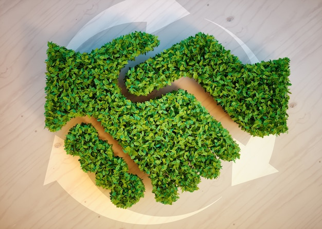 Concept d'accord d'écologie
