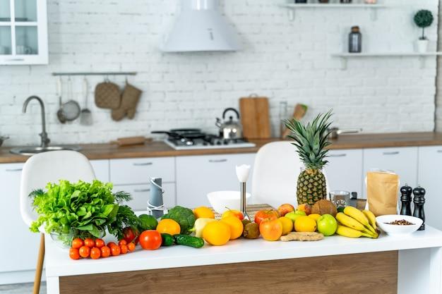 Concept d'alimentation saine et de régime