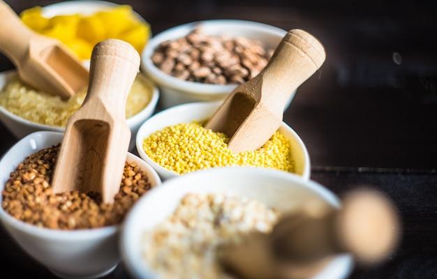 Concept d'aliments biologiques