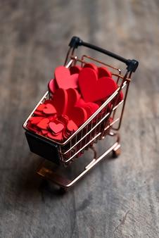 Concept d'amour, photo d'art pour la saint valentin