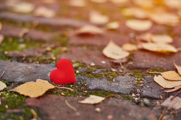 Concept d'amour ou de solitude unilatéral sans contrepartie.