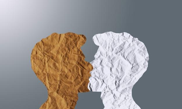Le concept d'amour et de sympathie entre deux personnes. rencontrer l'amour de toute vie. amour entre hommes, romance