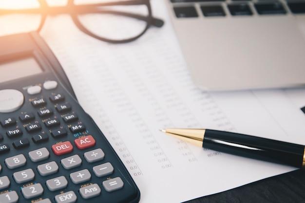 Concept d'analyse en comptabilité financière