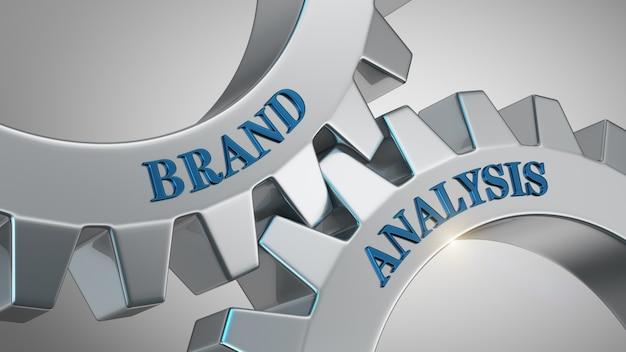 Concept d'analyse de marque