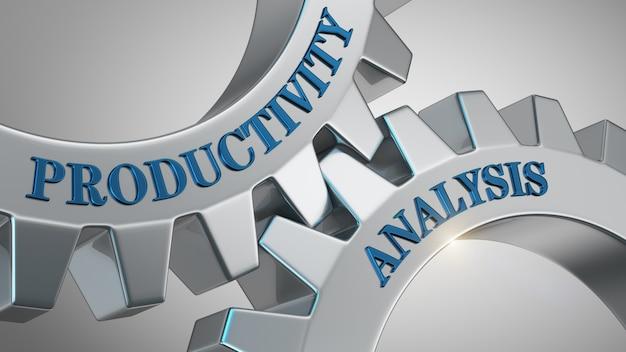 Concept d'analyse de la productivité