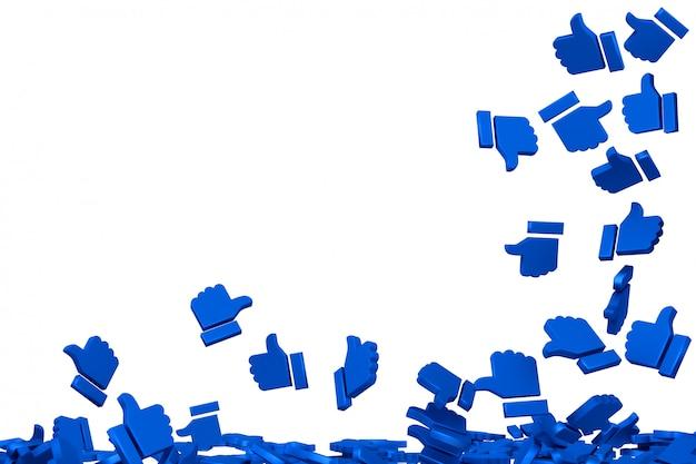 Concept art sur les réseaux sociaux