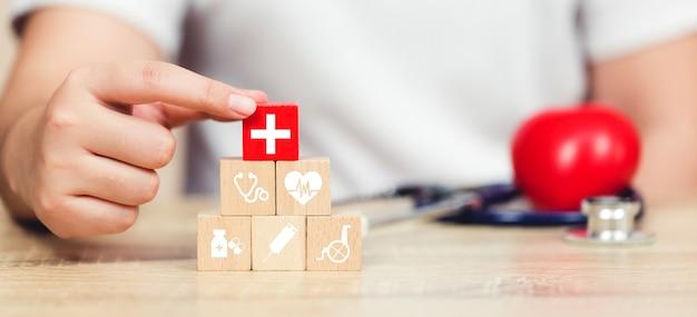 Concept d'assurance maladie