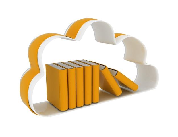Concept de base de données de technologie cloud