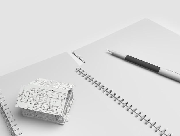 Concept de bureau d'architectes