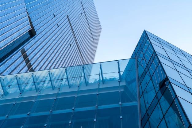 Concept de bureau de construction urbaine dans le quartier des affaires de la construction