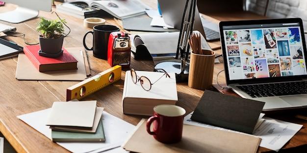 Concept de bureau moderne