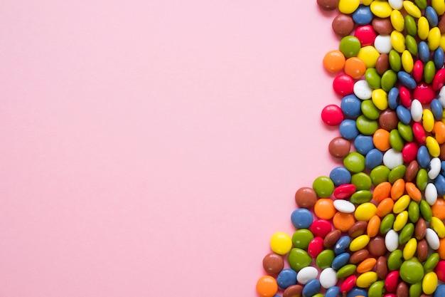 Concept candy avec espace