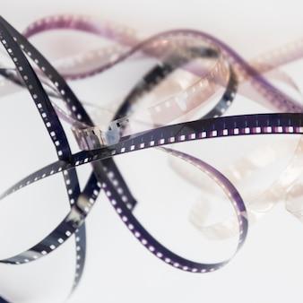 Concept de cinéma avec moulinet