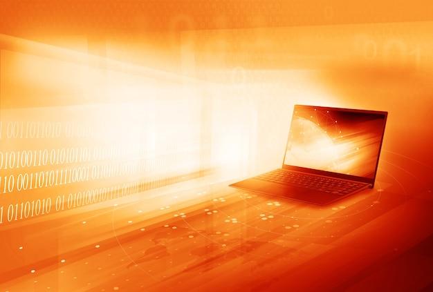 Concept de commerce en ligne mondial de technologie de communication numérique