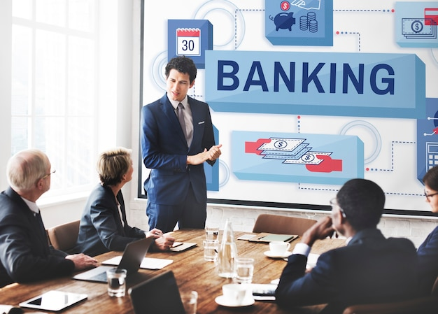 Concept De Compte De Gestion D'épargne Bancaire Photo gratuit