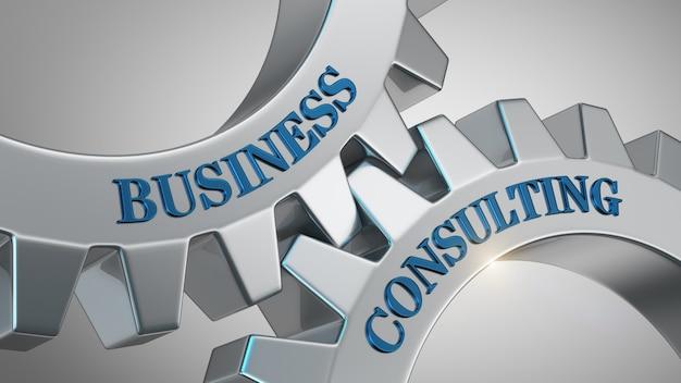Concept de conseil en entreprise
