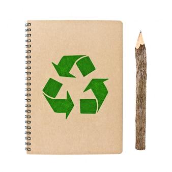 Concept conservation environnement de papier de cahier