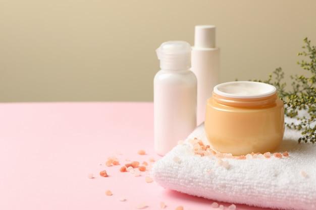 Concept de cosmétiques spa