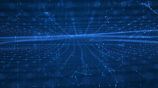 Concept croissant de réseaux et de connexions de données à l'échelle mondiale.