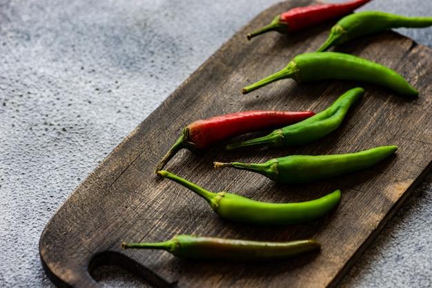 Concept de cuisson avec des légumes frais