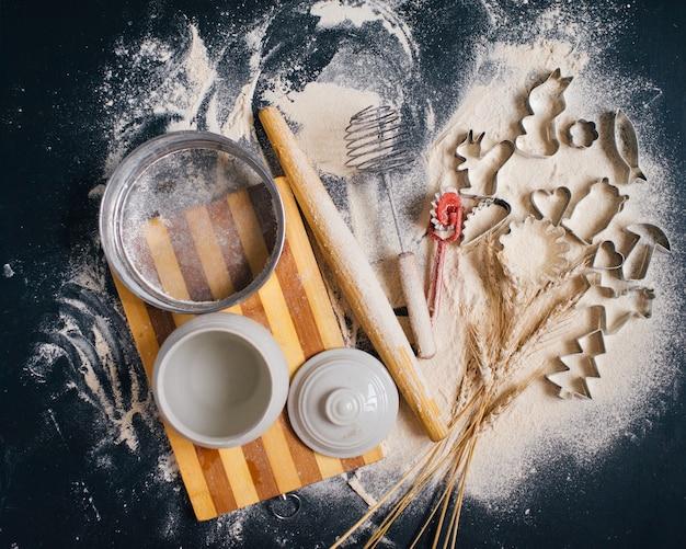Le concept de la cuisson à la maison