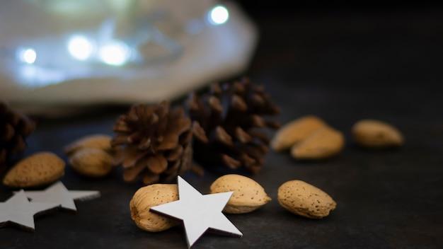 Concept de décoration de nouvel an sur table